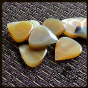 Jazz Tones Fat - Clear Horn - 4 Picks | Timber Tones